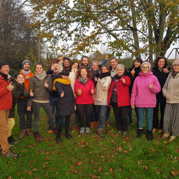 Fin de stage permaculture humaine