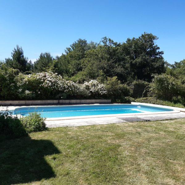 Piscine au sel tourisme en Sud Gironde